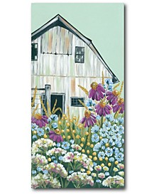 """Field Day on The Farm Gallery-Wrapped Canvas Wall Art - 14"""" x 28"""""""