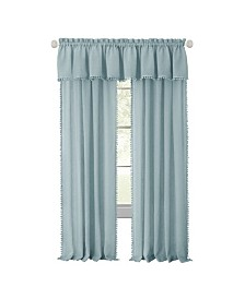 Wallace Rod Pocket Window Curtain Panel, 52x63