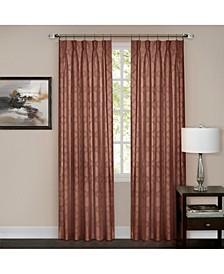Windsor Pinch Pleat Window Curtain Panel, 34x84