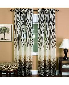 Kenya Window Curtain Panel, 50x63