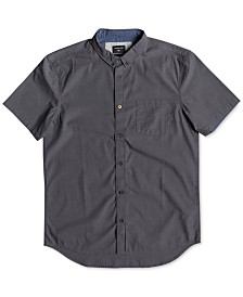 Quiksilver Men's Valley Groove Woven Shirt