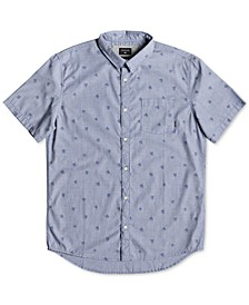Men's Woven Palm Graphic Shirt