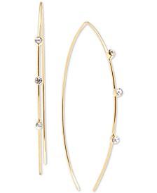 Zenzii Crystal Threader Earrings