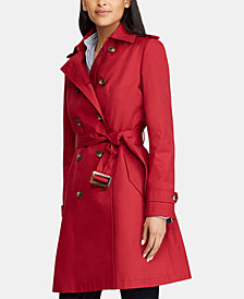 Lauren Ralph Lauren Belted Trench Coat