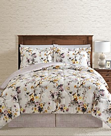 CLOSEOUT! Haley Reversible 8-Pc. Comforter Sets