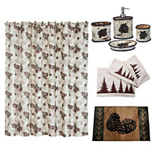 HiEnd Accents 21-Pc. Forest Pine Bathroom Set