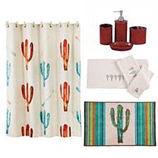 HiEnd Accents 21-Pc. Cactus Bathroom Set