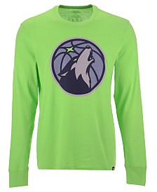 '47 Brand Men's Minnesota Timberwolves Imprint Club Long Sleeve T-Shirt