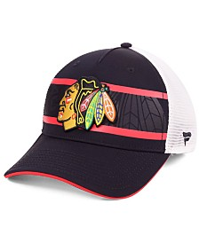 Authentic NHL Headwear Chicago Blackhawks 2nd Season Trucker Adjustable Snapback Cap