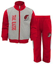 Outerstuff Portland Trail Blazers On the Line Pant Set, Toddler Boys (2T-4T)