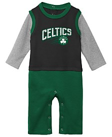 Outerstuff Boston Celtics Crossover Coverall, Infants (0-9 Months)