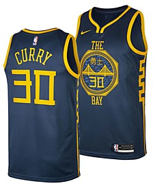 Men's Stephen Curry Golden State Warriors City Swingman Jersey 2018