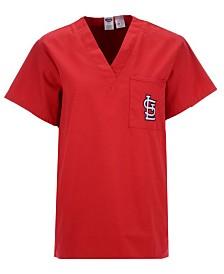 Concepts Sport Men's St. Louis Cardinals Scrub Top T-Shirt