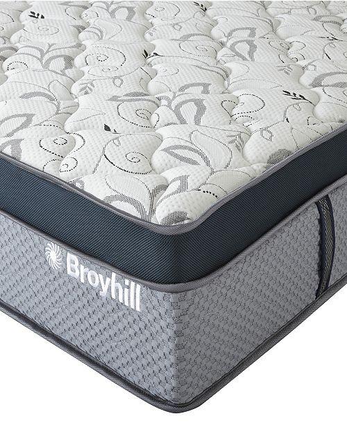"Broyhill 12"" King Coventry Cooling Gel Memory Foam Hybrid Innerspring Firm Mattress"