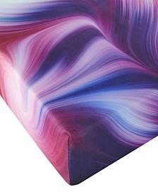 """Groove 3"""" Twin Size Tie Dye Roll Up Memory Foam Guest Bed Mattress"""