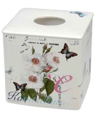 Botanical Diary Boutique Tissue Holder