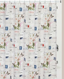 Creative Bath Botanical Diary Shower Curtain