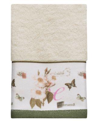 Botanical Diary Fingertip Towel