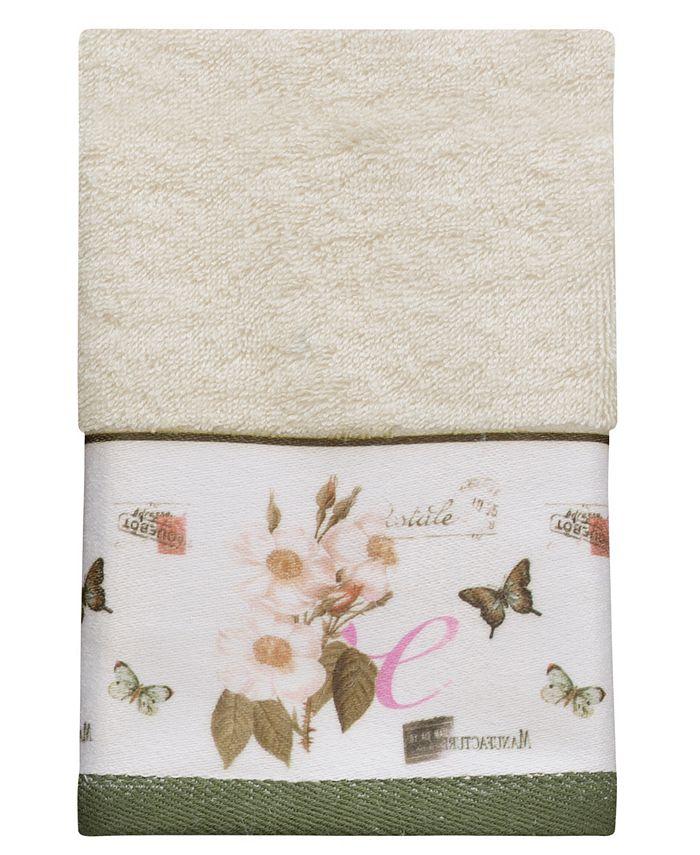 Creative Bath - Botanical Diary Cotton Border-Print Fingertip Towel