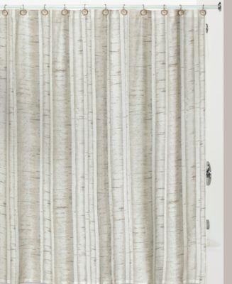Hautman Brothers White Birch Shower Curtain Hooks