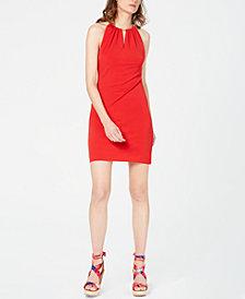 I.N.C. Halter-Neck Bodycon Dress, Created for Macy's