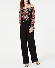 I.N.C Petite Off-The-Shoulder Top, Created for Macy's