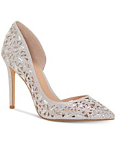 80cc6b1ed53 Silver Bridal Shoes and Evening Shoes - Macy s