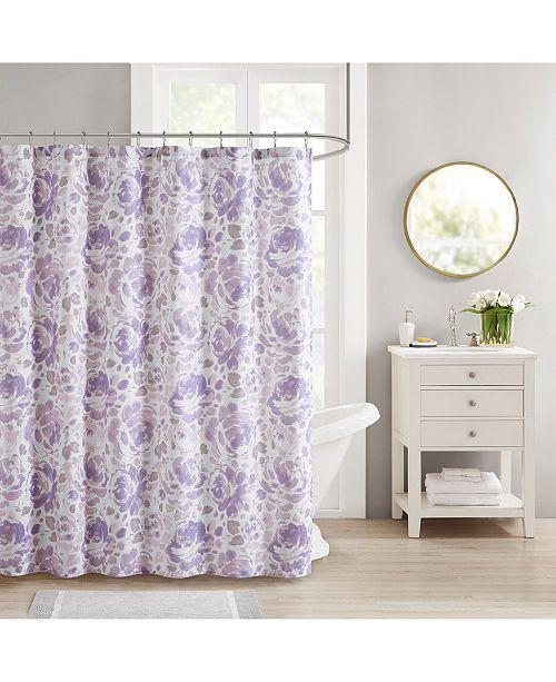 "510 Design Decor Studio Melody 72"" x 72"" Shower Curtain"