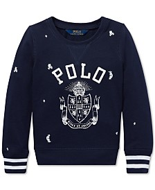 Polo Ralph Lauren Big Girls Polo Atlantic Terry Pullover