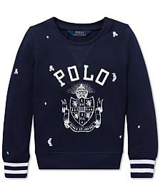 Polo Ralph Lauren Toddler Girls Polo Atlantic Terry Pullover