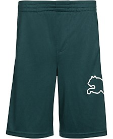 Puma Big Boys Logo Pull-On Shorts