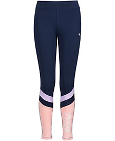Puma Big Girls Colorblocked Leggings