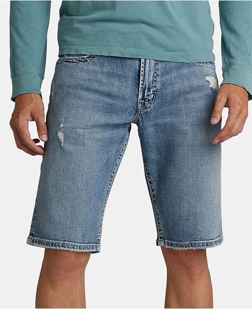 "Silver Jeans Co. Men's Zac Relaxed Denim 12 1/2"" Shorts"