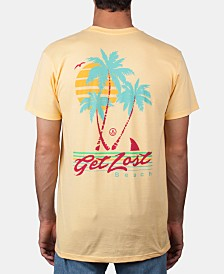 Neff Men's Get Lost Graphic T-Shirt