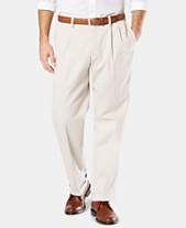 9d112ba1 Dockers Men's Easy Comfort Relaxed Fit Pleated Khaki Pants