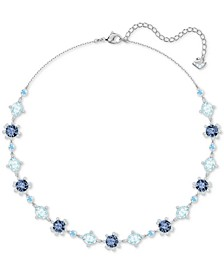 "Crystal Collar Necklace, 14-4/5"" + 4"" extender"