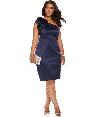 Plus Size One Shoulder Cocktail Dresses Cocktail Dresses 2016