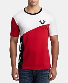 True Religion Men's Colorblocked Logo T-Shirt
