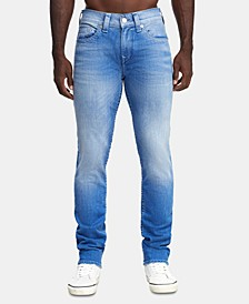 Men's Straight Fit Light Blue Jeans