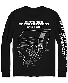 Nintendo NES Long-Sleeve Men's Graphic T-Shirt