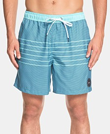 "Quiksilver Men's Fineline Volley 17"" Board Shorts"