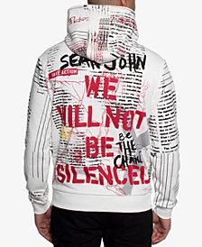 Sean John Men's Rise Up Graphic Hoodie