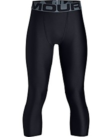 Boy's Heatgear 3/4 Leggings