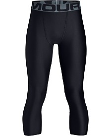 Under Armour Boy's Heatgear 3/4 Leggings