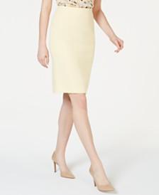 Kasper Petite Crepe Skirt