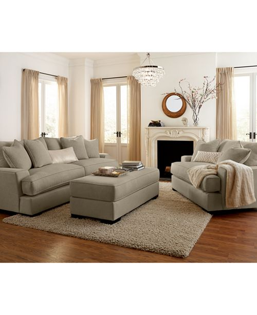 Miraculous Ainsley Fabric Sofa Living Room Collection Created For Macys Cjindustries Chair Design For Home Cjindustriesco