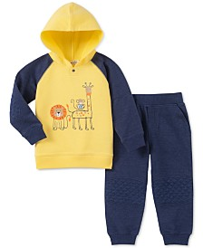 Kids Headquarters Baby Boys 2-Pc. Hooded Sweatshirt & Jogger Pants Set