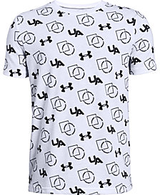 Under Armour Big Boys Sportstyle-Print T-Shirt