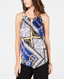 I.N.C. Chain Halter Top, Created for Macy's