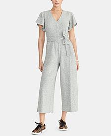 RACHEL Rachel Roy Racquel Flutter-Sleeve Jumpsuit, Created for Macy's